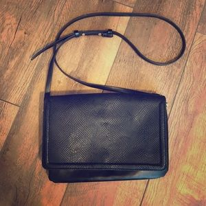 Aldo Faux Snakeskin Purse